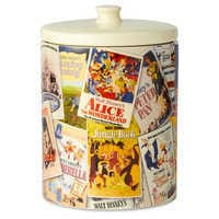 Image of Walt Disney Classic Film Poster Collage Kitchen Canister # 4