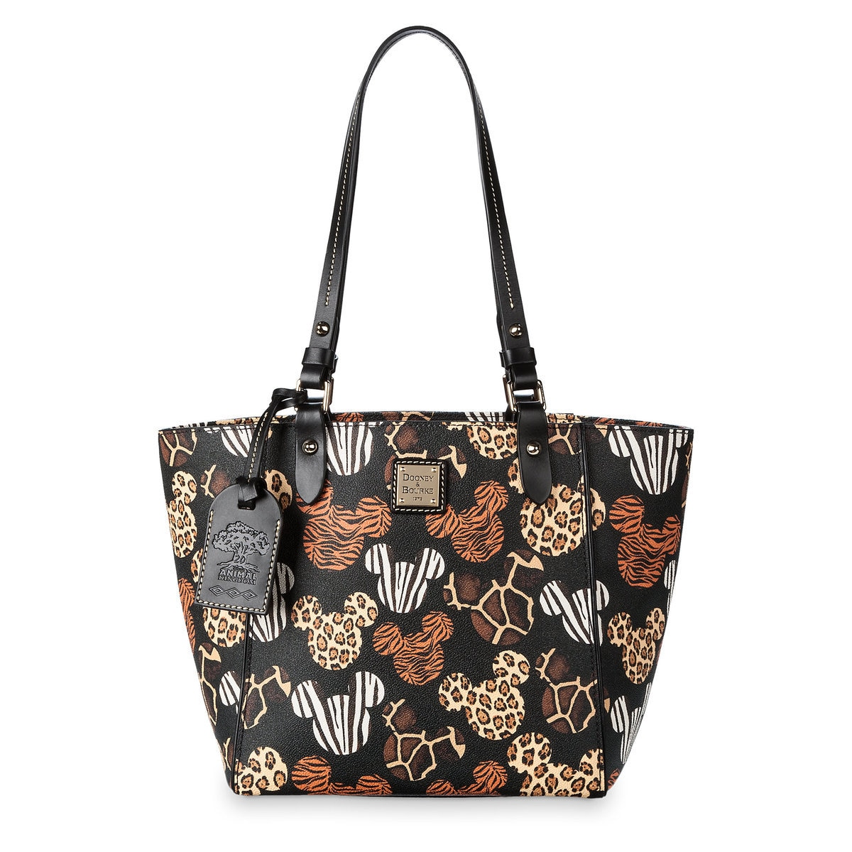 Mickey Mouse Disney S Animal Kingdom 20th Anniversary Tote By Dooney Bourke Large