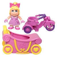 Image of Miss Piggy Trike & Carriage - Muppet Babies # 2