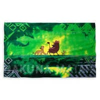Image of Hakuna Matata Beach Towel - The Lion King - Oh My Disney # 1