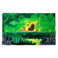 Image of Hakuna Matata Beach Towel - The Lion King - Oh My Disney # 1