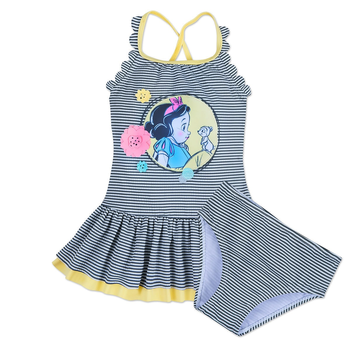 b9ad5b4ee3 Product Image of Disney Animators  Collection Snow White Swimsuit for Girls    1
