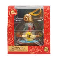 Image of Sebastian and Flounder Disney Duos Sketchbook Ornament - The Little Mermaid - June - Limited Release # 4