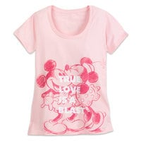 Mickey and Minnie Mouse ''True Love'' T-Shirt for Women