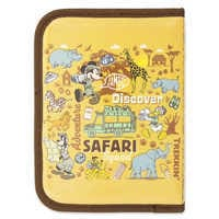 Image of Mickey Mouse and Friends Safari Zip-Up Stationery Kit - Disney's Animal Kingdom # 4