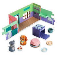 Image of Tony's Restaurant Deluxe Playset - Disney Furrytale friends # 2