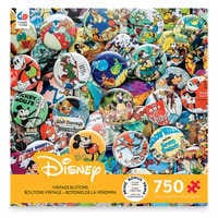 Image of Disney Vintage Buttons Jigsaw Puzzle by Ceaco # 1