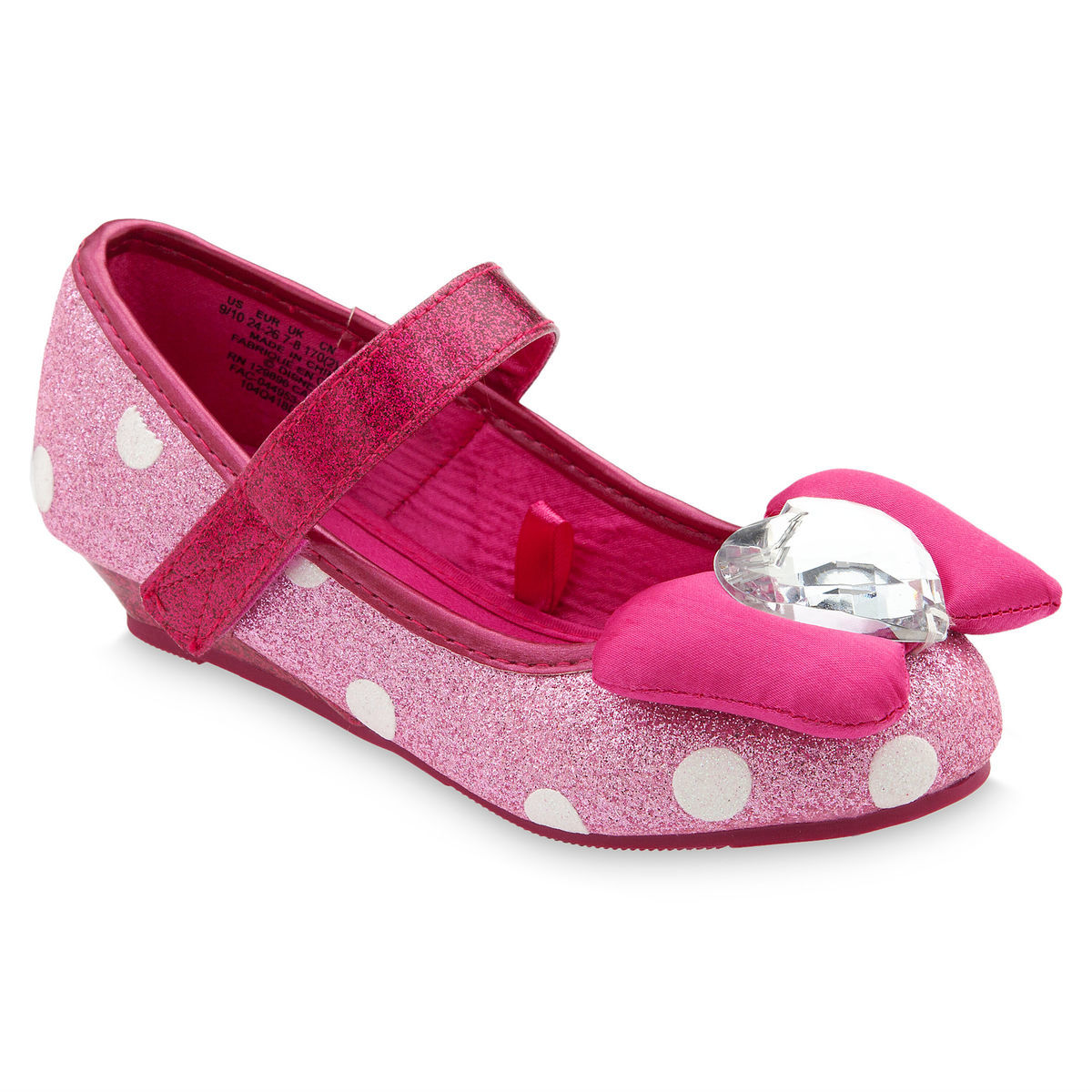 5f2c29c82558 Product Image of Minnie Mouse Costume Shoes for Kids - Pink   1