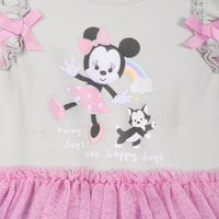 Minnie Mouse Tutu Bodysuit for Baby