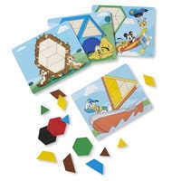 Image of Mickey Mouse Pattern Tiles Set by Melissa & Doug # 1