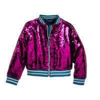 Image of Cinderella Reversible Sequin Bomber Jacket for Girls # 3