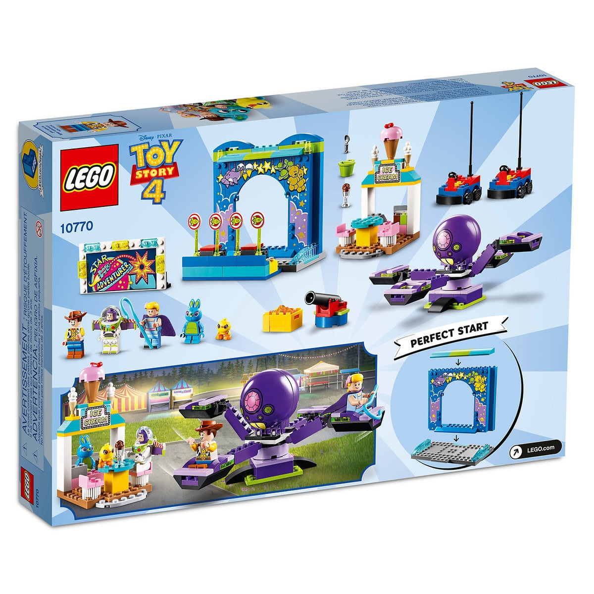 Buzz Woody S Carnival Mania Play Set By Lego Toy Story 4