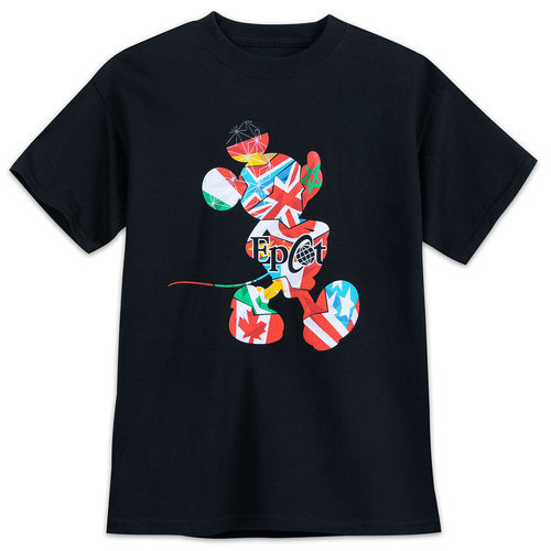 Mickey Mouse Epcot T Shirt For Boys Shopdisney