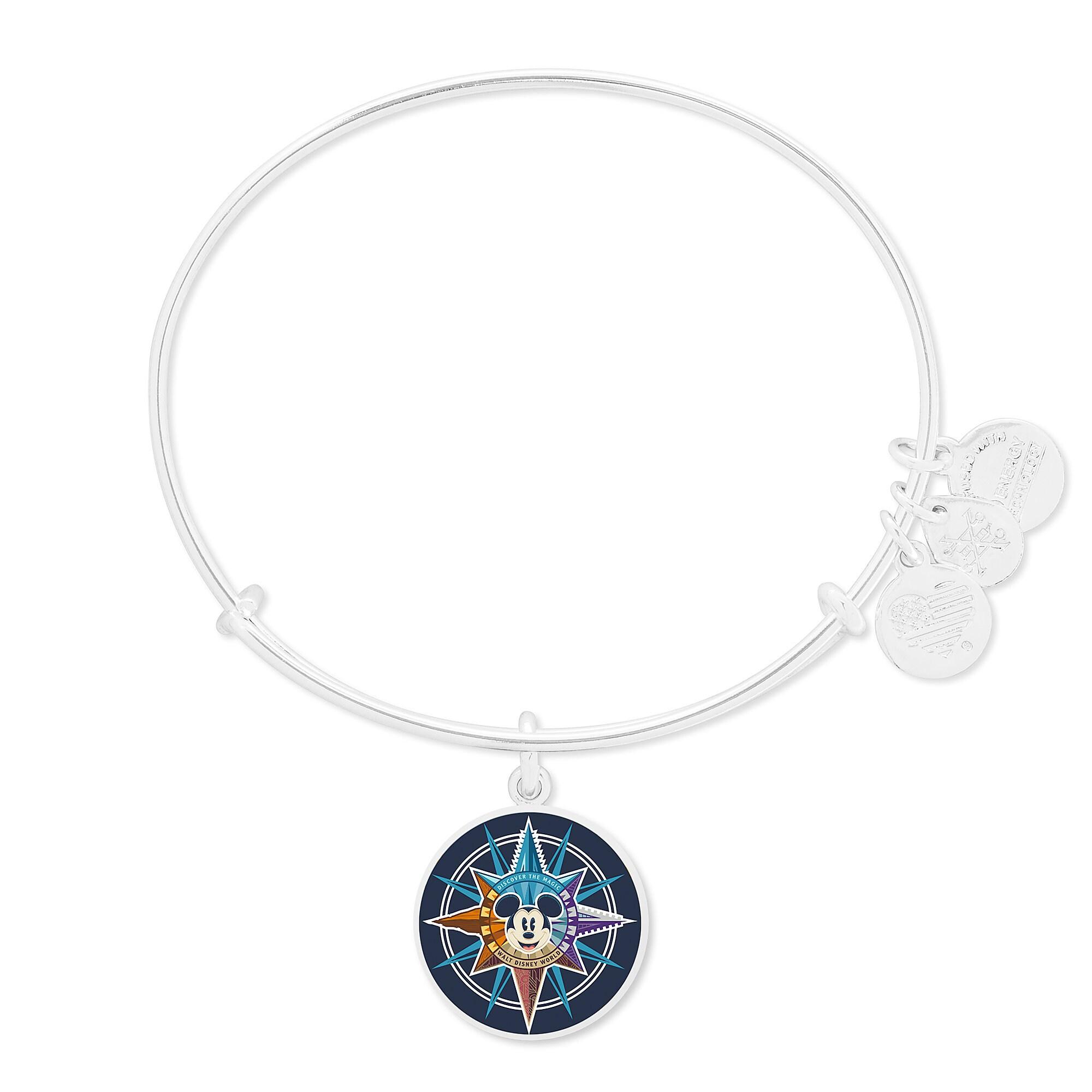 Mickey Mouse Compass Bangle by Alex and Ani - Walt Disney World