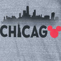 Image of Mickey Mouse Chicago Ringer T-Shirt Shirt for Women # 2