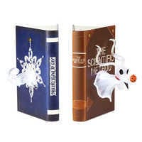 Image of Zero Light-Up Bookend Set by Disney Showcase Collection - Nightmare Before Christmas # 1
