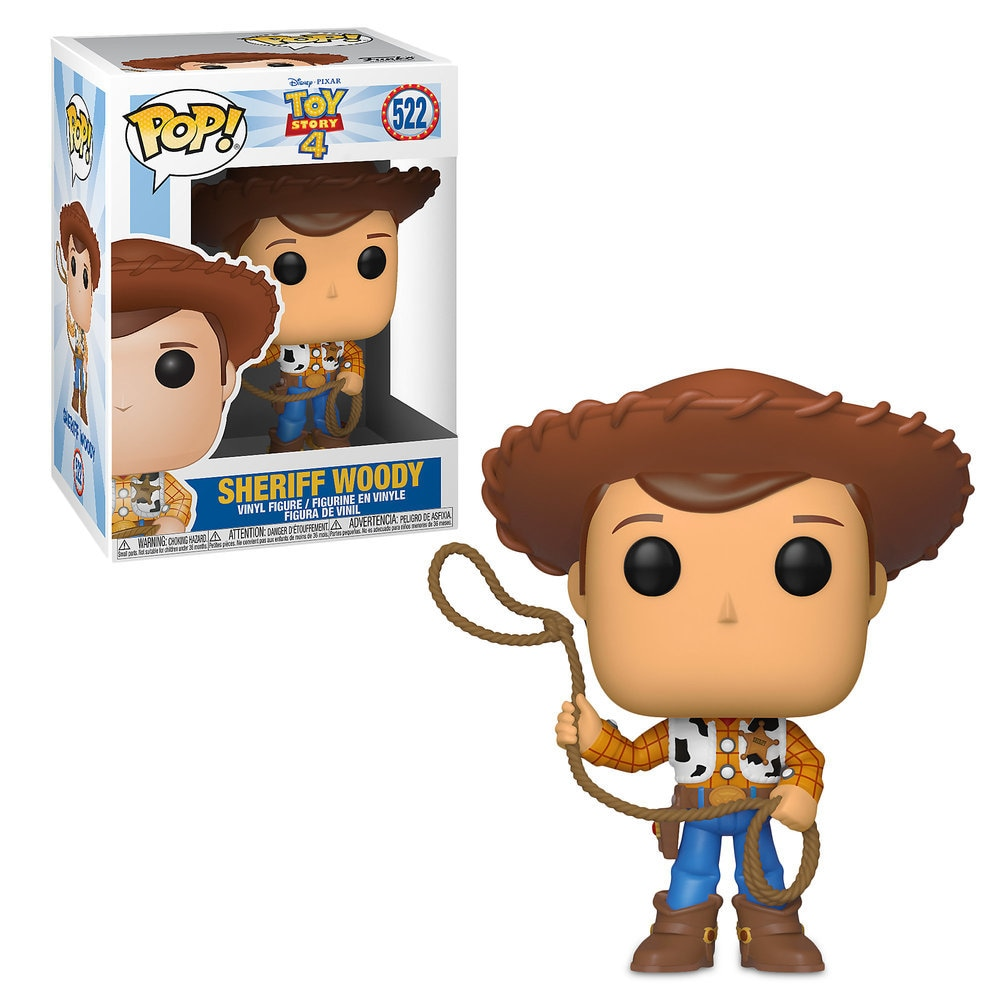 Sheriff Woody Pop! Vinyl Figure by Funko - Toy Story 4 Official shopDisney