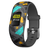 Image of Star Wars: The Resistance Garmin vivofit jr. 2 Activity Tracker for Kids with Adjustable Band # 1