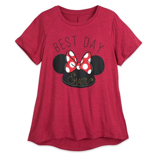 Minnie Mouse Ear Hat T Shirt Women Shopdisney