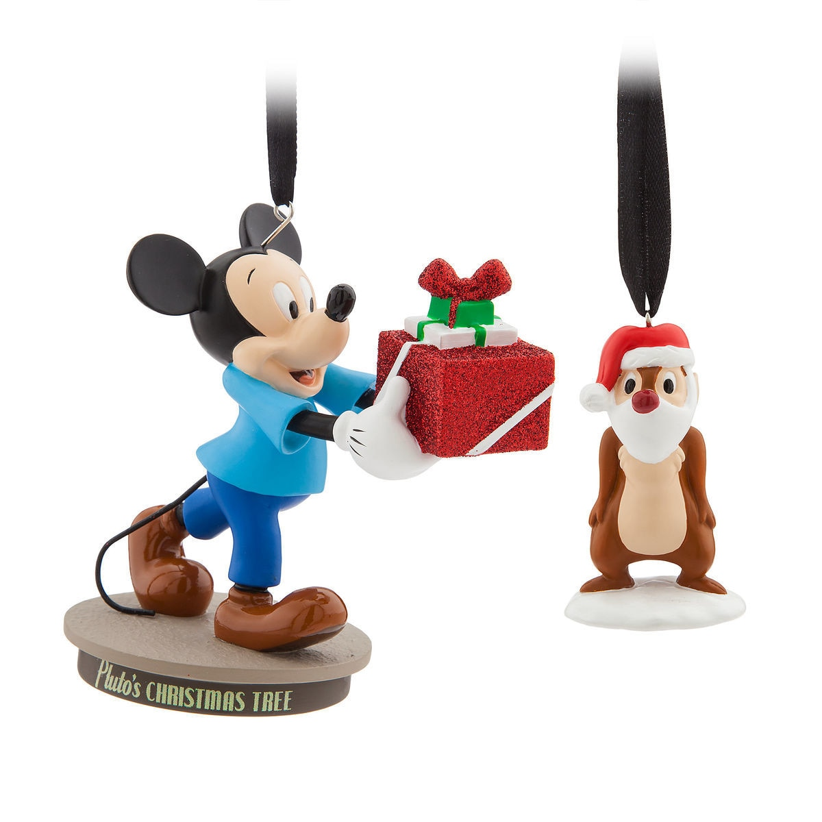 Thumbnail Image Of Mickey Mouse Through The Years Sketchbook Ornament Set Pluto S Tree