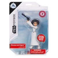 Image of Princess Leia Action Figure - Star Wars Toybox # 4