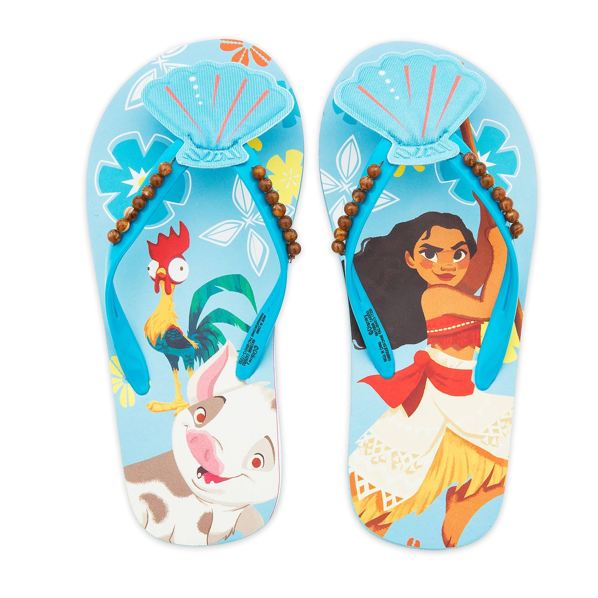Product Image of Moana Flip Flops for Kids # 2