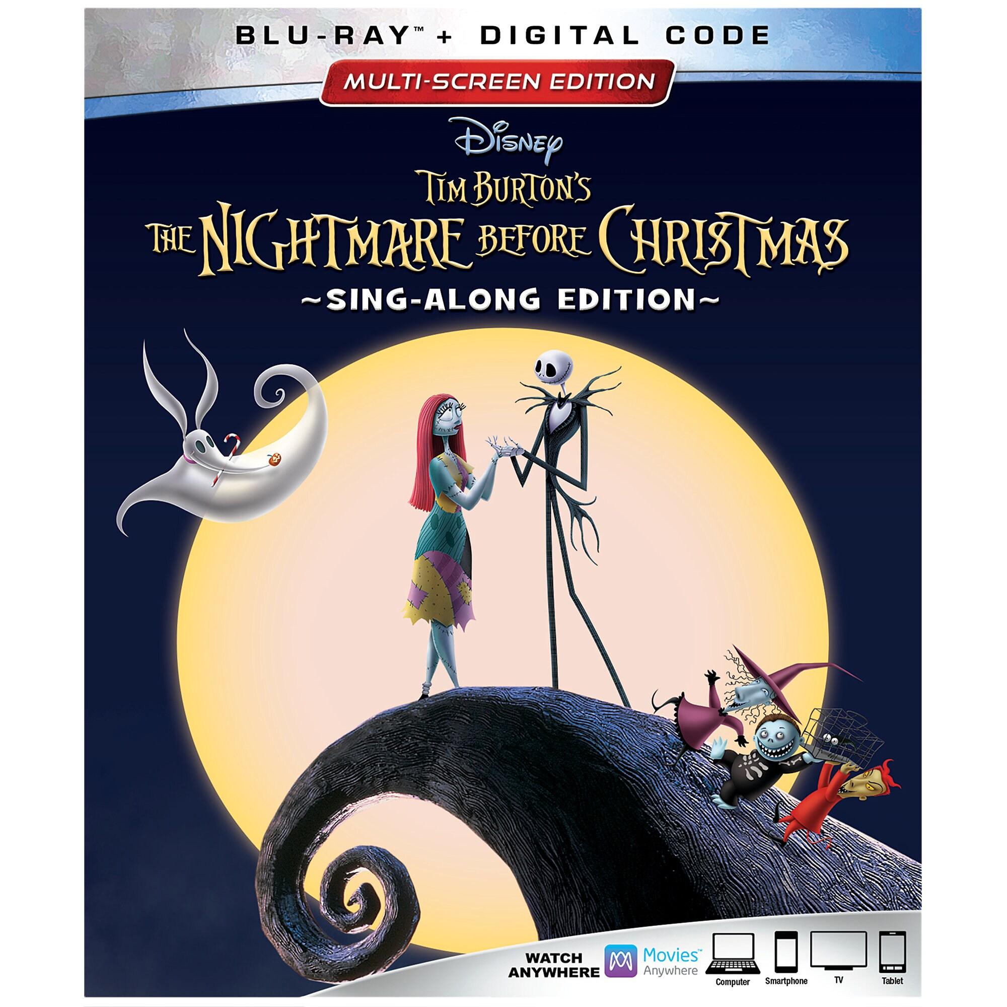Tim Burton's The Nightmare Before Christmas 25th Anniversary Blu-ray Combo Pack Multi-Screen Edition