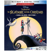 Image of Tim Burton's The Nightmare Before Christmas 25th Anniversary Blu-ray Combo Pack Multi-Screen Edition # 1