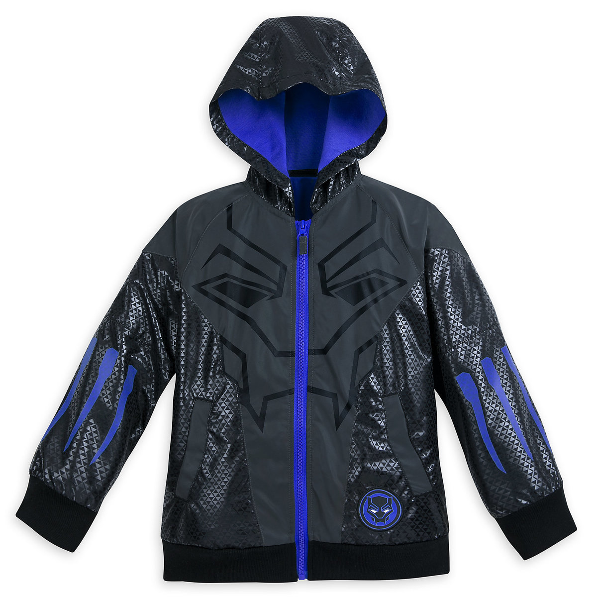 ed2e39932fc27a Product Image of Black Panther Hooded Jacket for Kids by Our Universe # 1