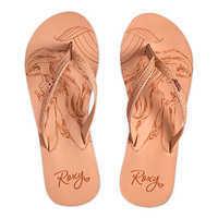 Image of Ariel Flip Flops for Girls by ROXY Girl # 1