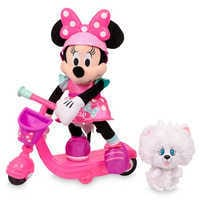 Image of Minnie Mouse Sing & Spin Scooter # 4