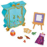Image of Disney Animators' Collection Rapunzel's Artist Armoire Playset # 1