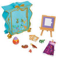 Image of Disney Animators' Collection Rapunzel's Artist Armoire Playset # 1