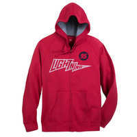 Image of Lightning McQueen Hoodie for Adults - Cars # 1