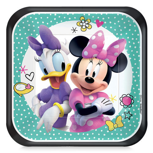 Minnie Mouse and Daisy Duck Dessert Plates