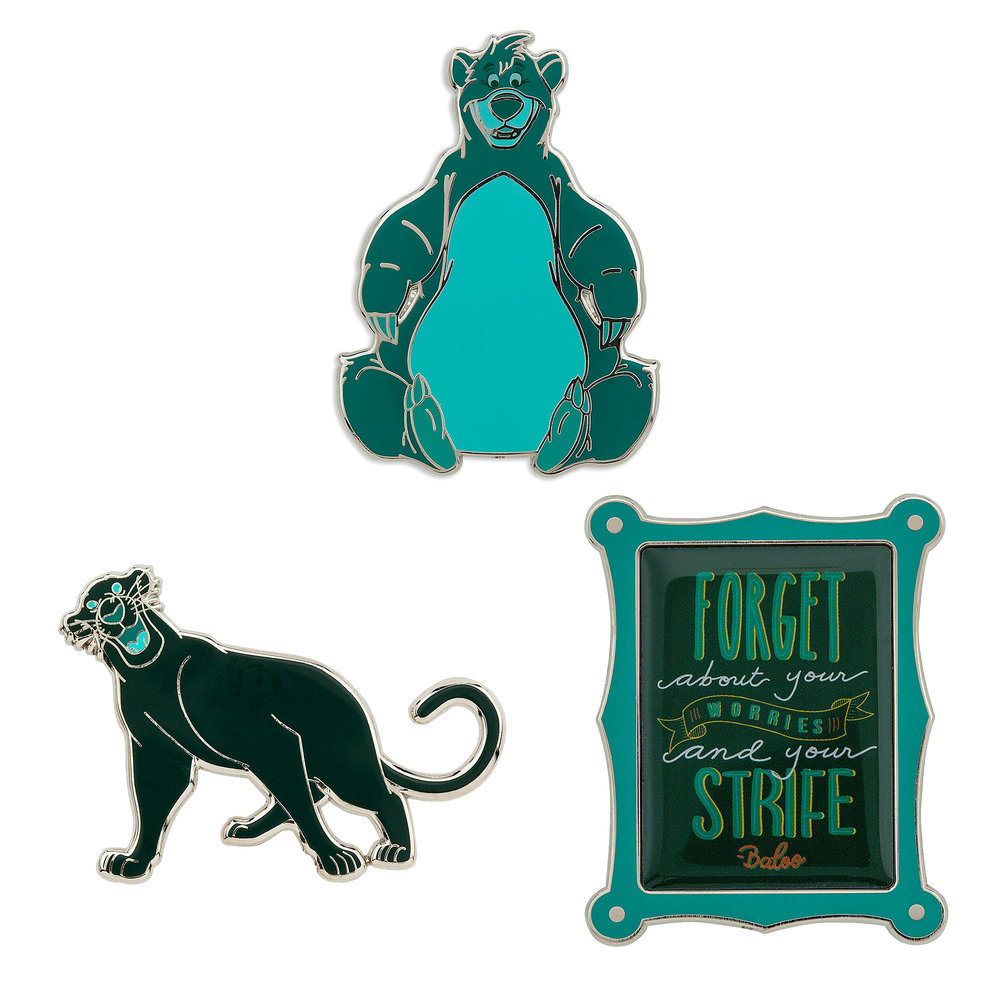 Disney Wisdom Pin Set - The Jungle Book - March - Limited Release