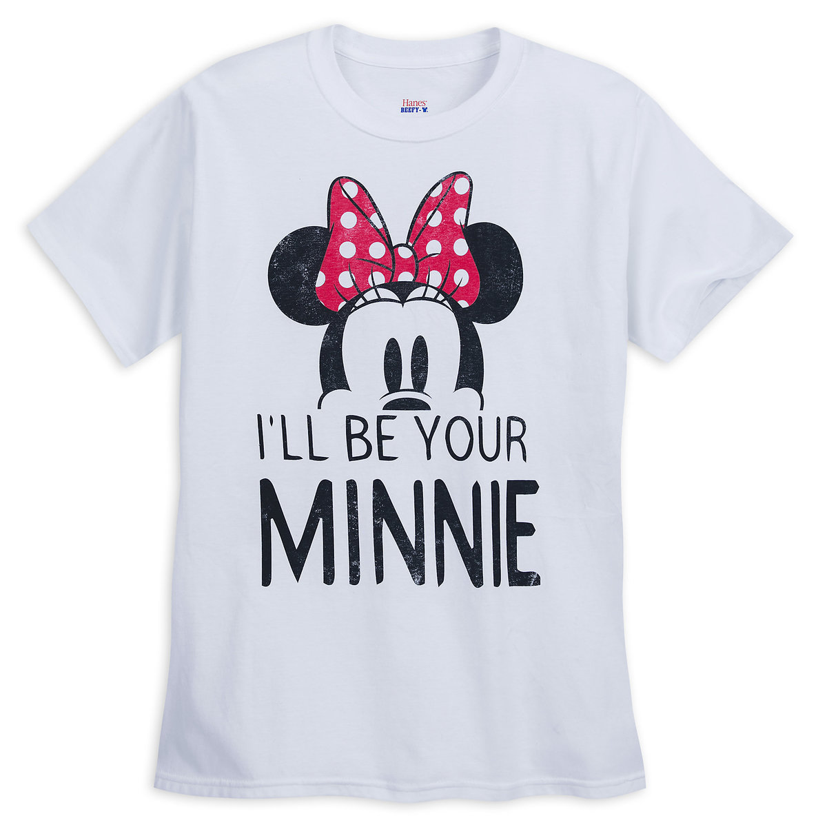 b0119e8f4 Minnie Mouse ''I'll Be Your Minnie'' Couples T-Shirt for Women ...