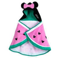 Image of Minnie Mouse Hooded Swim Towel for Baby - Personalized # 1