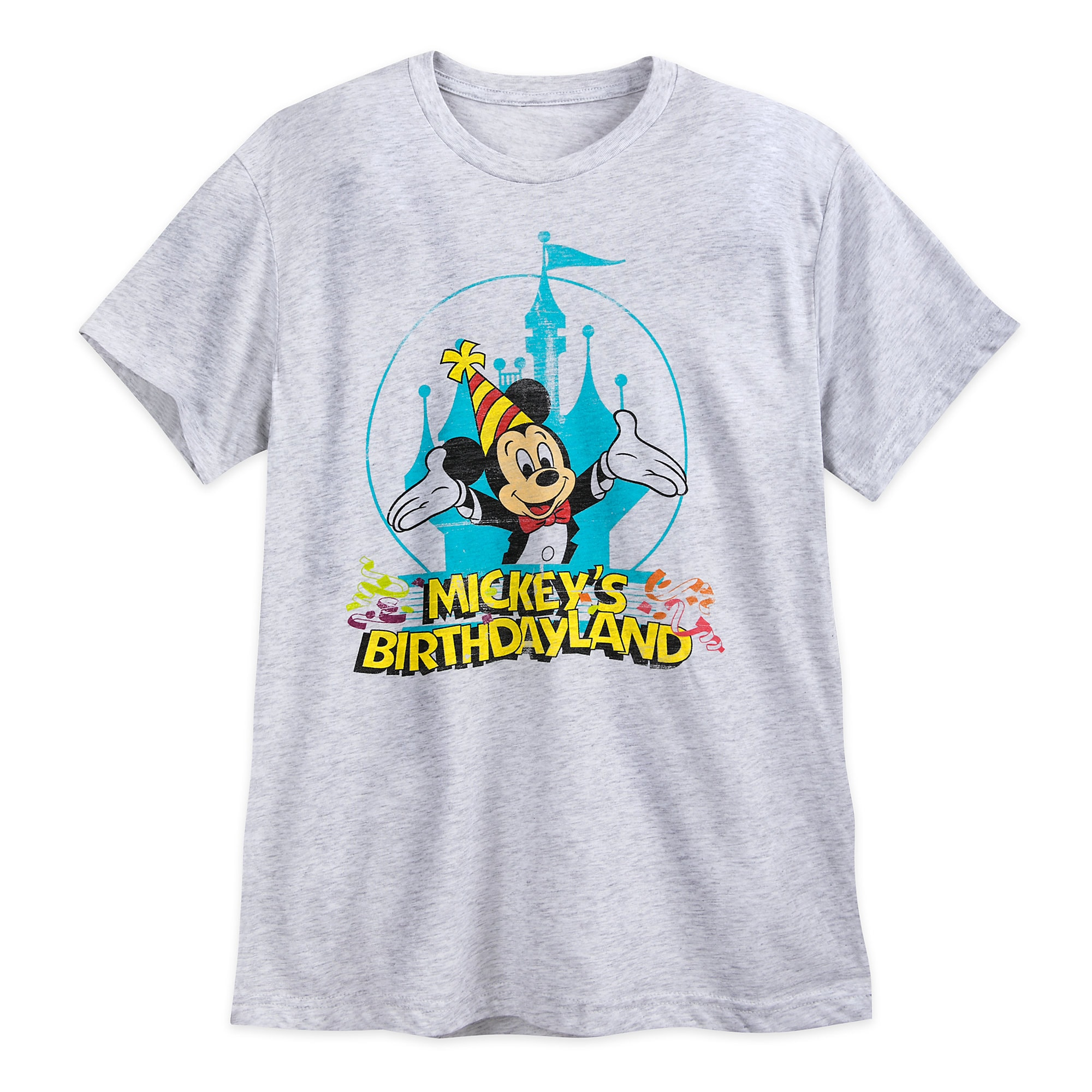 Mickey's Birthdayland YesterEars Retro T-Shirt for Adults - Limited Release