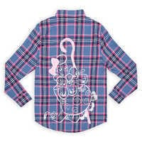 Image of Bo Peep Flannel Shirt for Adults by Cakeworthy - Toy Story 4 # 1