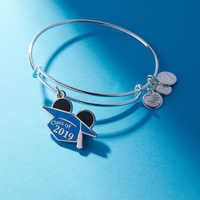 Image of Mickey Mouse Graduation Cap Bangle by Alex and Ani - Class of 2019 # 3