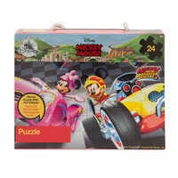 Image of Mickey Mouse 24-Piece Puzzle - Mickey and the Roadster Racers # 2