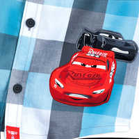 Image of Lightning McQueen and Jackson Storm Button Shirt for Boys # 4