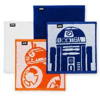 Image of R2-D2 and BB-8 Washcloths Set - Star Wars # 2