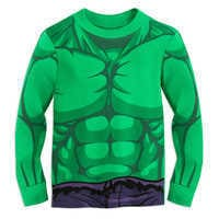 Image of Hulk Costume PJ PALS for Boys # 2