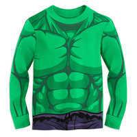 Image of Hulk Costume PJ PALS for Boys # 2