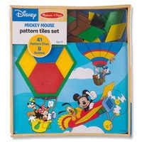 Image of Mickey Mouse Pattern Tiles Set by Melissa & Doug # 3
