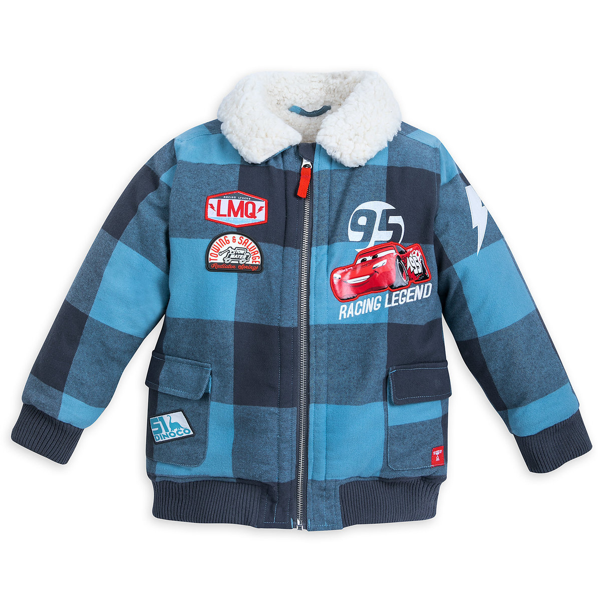 3bed50f9508 Product Image of Lightning McQueen Bomber Jacket for Kids   1