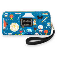 Image of Disney Parks Minis Zip-Around Wristlet Wallet by Loungefly # 1