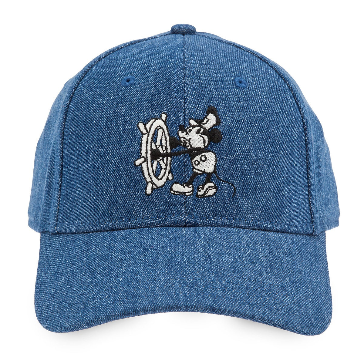 695c76704032a Product Image of Mickey Mouse Steamboat Willie Baseball Cap for Adults   1